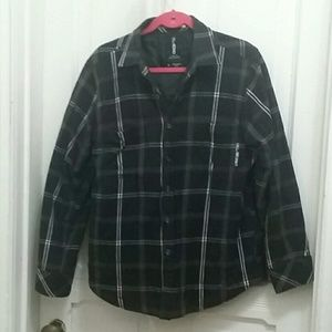 Large ☆ Billabong 90s Plaid Straight Fit Jacket